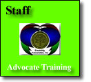 Staff Advocate Training with Mentor