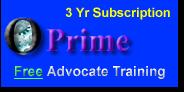 Prime 3 Yr Sub (Free Training)