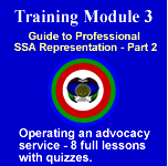 Module 3 - Operating an Advocacy Service